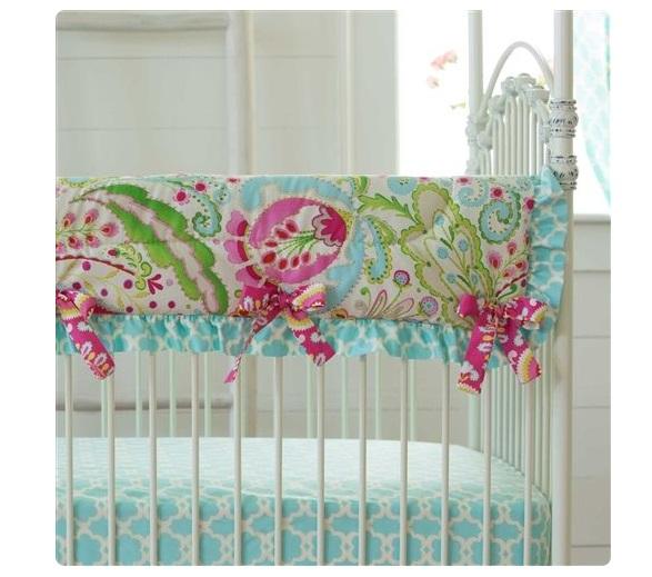 crib padded crib