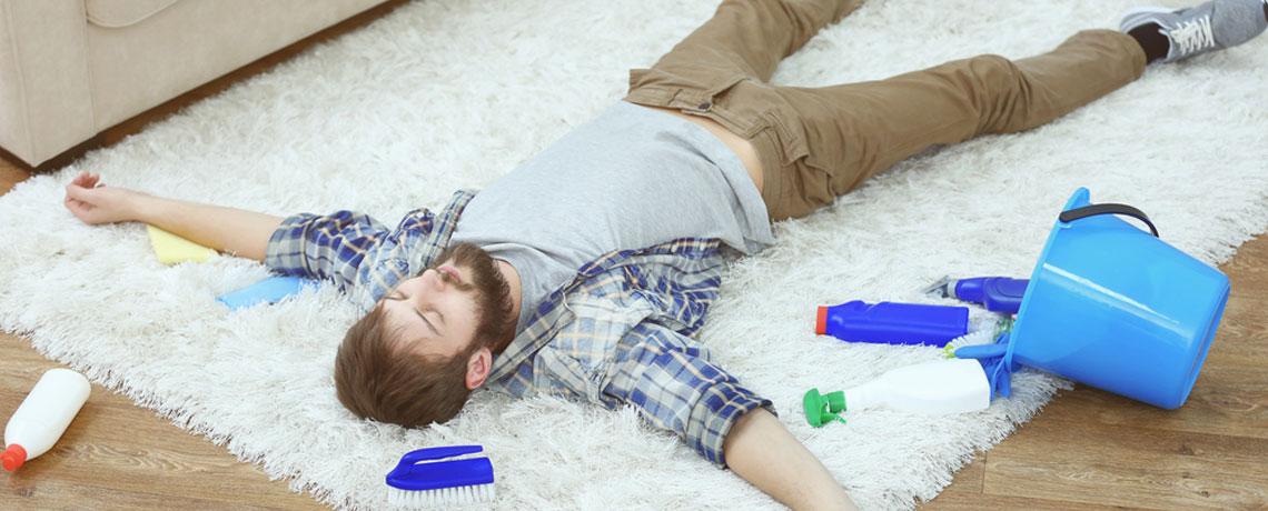 rug cleaning DIYs