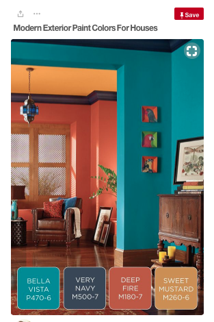 Rust Orange Colour Palette