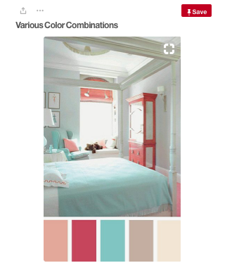 Coral Colour Palette 2