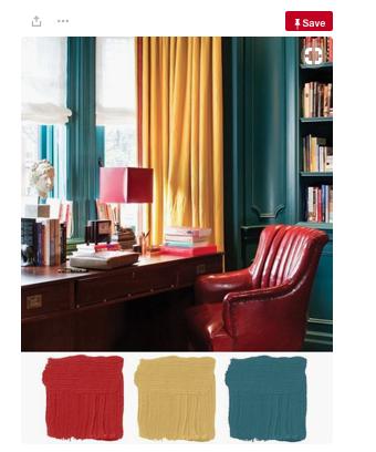 Teal Colour Palette
