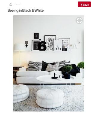 Black & White Colour Palette