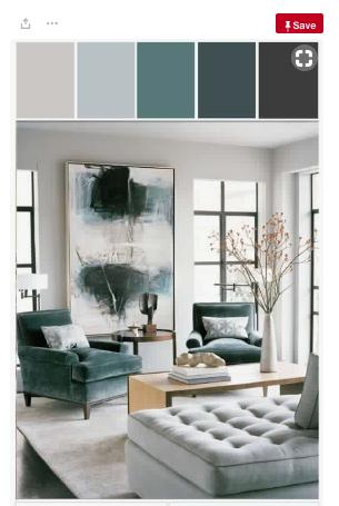 Charcoal Colour Palette