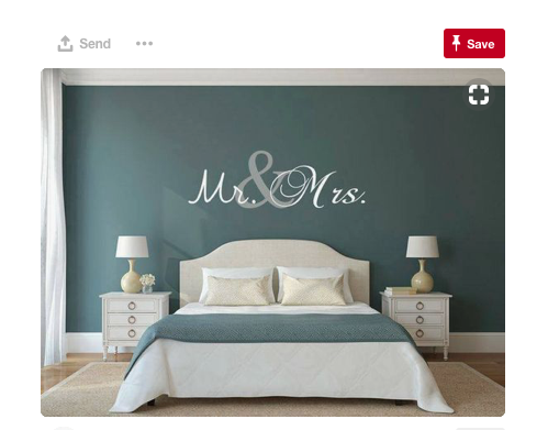Mr&Mrs Headboard