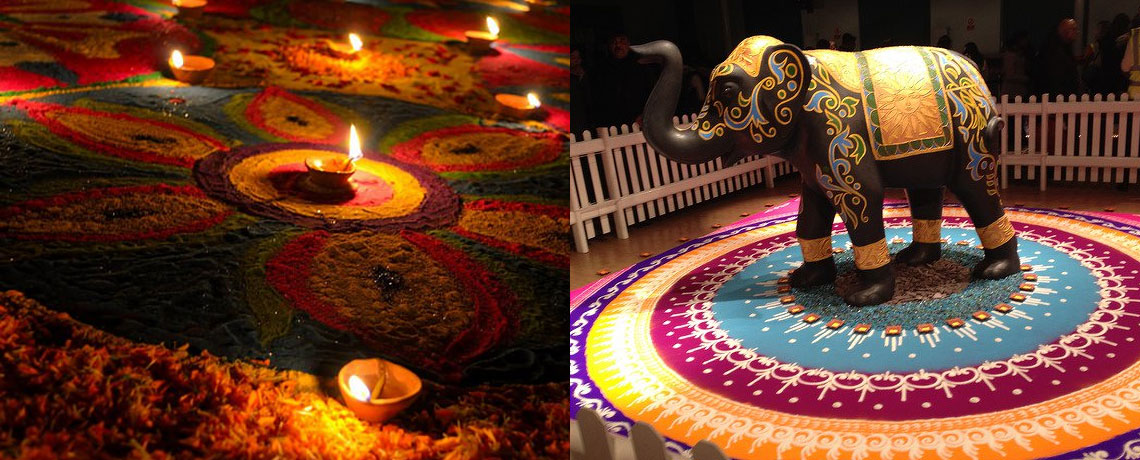 Rangoli ideas